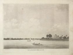 'Views along the Hooghly'. Garden Reach, Calcutta 320